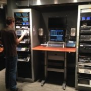 ST1E Broadcast Furniture and Rack Equipment