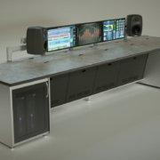 ControlTrac - with integrated rack + cpu cabinets