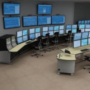 Network Operations Center (IntelliTrac with Corn Linoleum countertop)