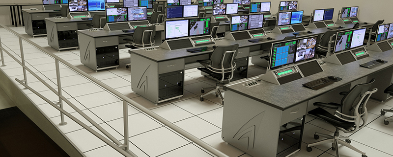 Custom Technical Furniture for Alaska Aerospace Corp.