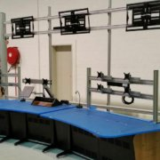 Control Console for Water Treatment Plant
