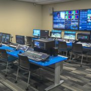 Production Control Room with Linked SmartTrac Consoles