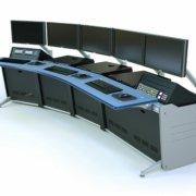 5 Bay IT-HD semicurved + Blue Plexiglass C-Top