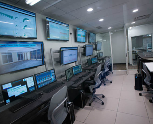 Well Living Control Room Features TBC