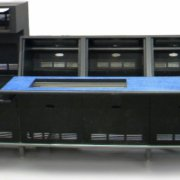 Production Control Console with Audio Hutch