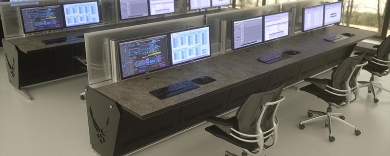 Network operation Center, Sheiver AFB