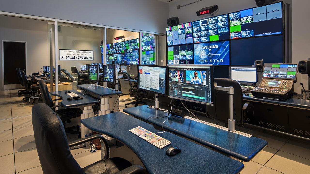 Dallas Cowboys Broadcast Control Room