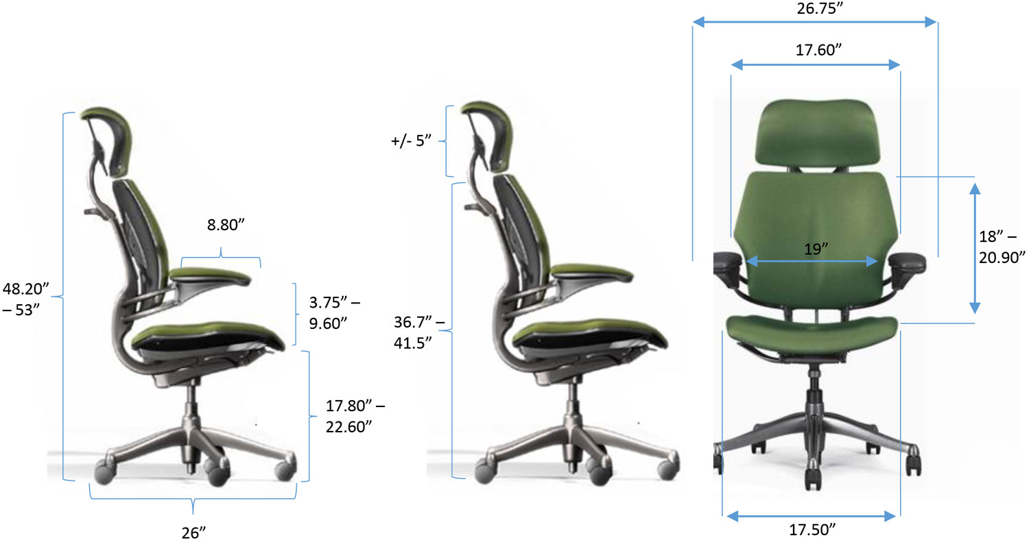 Freedom Chair Specs